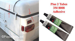 1996-2003 Coleman Fleetwood Popup Trailer Roof Seal 41and039 Plus 3m Adhesive