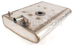 Fiat 1200 1500 Spider 1600 S Stainless Steel Fuel Tank New