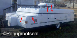 1996-2003 Coleman Fleetwood Roof Seal And Storage Lid Seal Popup Tent Trailer