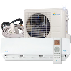 18000 BTU Ductless AC Mini Split Heat Pump Air Conditioner 15 SEER 1.5 TON