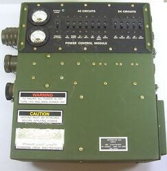 Military Surplus Power Control Module For Mk-2722/g Shelter Nsn 6110-01-362-6878