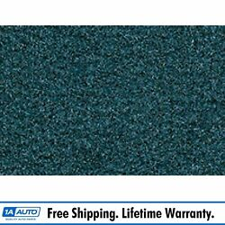 For 74-75 Dodge Charger W/ Bench Seat 818 Ocean/bright Blue Carpet Manual Trans