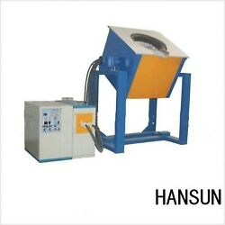New! Medium frequency induction melting furnace 25Kw