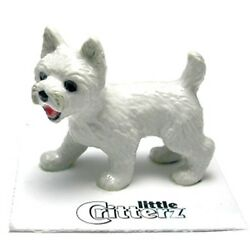 ➸ LITTLE CRITTERZ Dog Miniature Figurine West Highland Terrier Westie Bailey