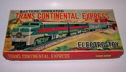 red arrow express train trans continental
