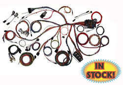 American Autowire 510055 - 1967-68 Ford Mustang Classic Update Wiring Harness