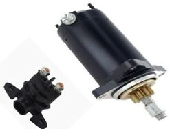 New Starter With Relay For Rotax 717 Eng 2 Stroke 718cc 1995-2005 278-001-376