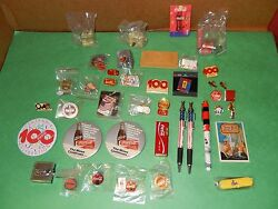Coca Cola Lot Of Pins And Misc. Items - 50 All Together