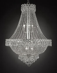 French Empire Empress Crystal Tm Chandelier Chandeliers Lighting H 30 W 24