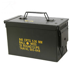 *50 CAL AMMO CAN (M2A1) - USED