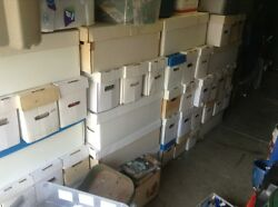 Huge Lot Of 350 Comics Storage Unit Find . Awesome Collection.