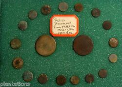 19 Rare Buttons From Fort Hill Site Macon Ga. Circa 1804