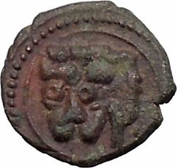 William Ii The Good King Of Sicily 1166ad Lion Kufic Script Medieval Coin I47805
