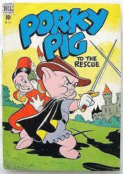 Porky Pig To The Rescue Four Color 191 Fn Golden Age Looney Tunes Comic 1948