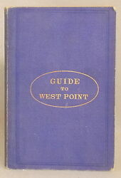 Rare 1867 Guide To West Point And The U.s. Military Academy With Maps And Engravings