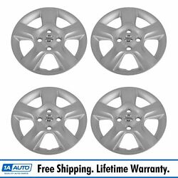 Oem Wheel Center Hub Cap Set Of 4 Lh Rh Front And Rear For 07-09 Nissan Sentra New
