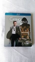 Casino Royale German Blu-ray Steelbook Rare Hard To Find Out Of Print