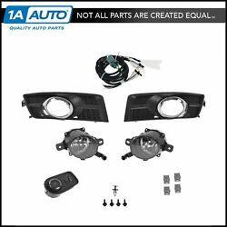 OEM 19172867 Fog Driving Light Lamp Upgrade Kit Set for 10-15 Cadillac SRX New