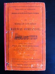 The Midland Counties' Railway Companion 1840, 1st Edition Rare, Fold Out Map