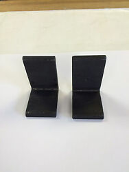 Carr Lane Cl-1-ab Steel Angle Brackets Lot Of 2 2-1/2 High 2 Long Nos