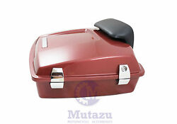Mutazu Fire Red Razor Tour Pak Harley Davidson Touring w Premium latches hinges