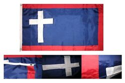 3x5 Embroidered Sewn Missouri Battle 300d Nylon Flag 3and039x5and039 2 Clips Civil War
