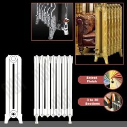 The Marlborough 760mmhigh Cast Iron Radiators 3 To 30 Sections Wide
