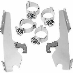 Memphis Shades Windshield fairing mount kit 12-15 Harley Switchback FLD Dyna