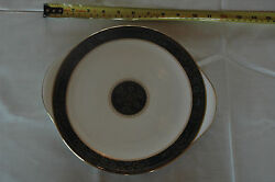 Royal Doulton Carlyle Fine Bone China Cake Plate With Handles