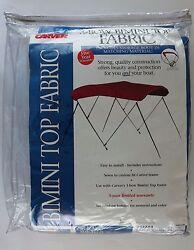 Carver 3 Bow Bimini Pacific Blue Fabric Top 303a04 Canvas And Storage Boot Only
