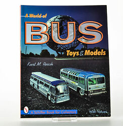 tin toy book colelcting tin busses tippco