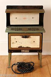 Empire Metal Ware Toy Stove Early To Mid 20th C. 5.75x10.25x16.5