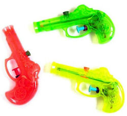 12 Colored Pirate Squirt Guns Water Gun Party Items Toys Pretend Pirates Toy New
