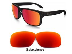 Oakley Replacement Lenses For Holbrook Fire Red Color Polarized 100% UVAB $6.22