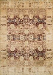 7and039x10and039 Loloi Rug Anastasia Polypropylene And Polyester Red Gold Machine-made Trans