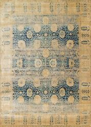 9and039x13and039 Loloi Rug Anastasia Polypropylene And Polyester Blue Gold Machine-made Tran