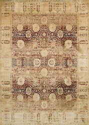 9and039x13and039 Loloi Rug Anastasia Polypropylene And Polyester Red Gold Machine-made Trans