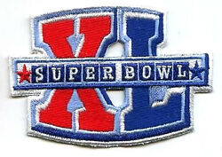 Superbowl Sb 40 Steelers Seahawks Player Jersey Iron-on Super Bowl Xl Logo Patch