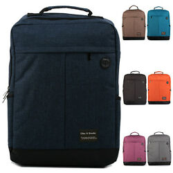 Fashion Women Men Vintage Canvas Travel Satchel Backpack School Bookbag Rucksack $17.99