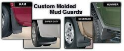Chevrolet Front And Rear Husky Liners Molded Mud Guards Flaps Set Of 4 Flaps
