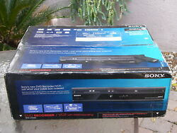 New Sony Rdr-vx560 Tunerless 1080p Dvd Recorder Vcr Combo Vhs Player Hdmi Output