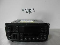 Chrysler Town And Country A/v Equipment 22 And 10 Pin Connectors Receivier Rbb