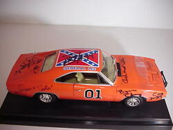the dukes of hazzard cast autographed