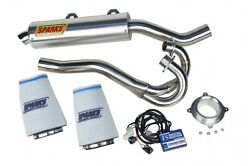 Sparks Racing Stage 1 Power Kit Ss Race Core Exhaust Yamaha Raptor 700 2015+