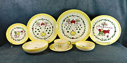 59-pieces Or Less Of Brock Of California Farmhouse Pattern China