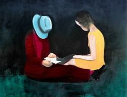 Charles Blackman Afternoon Light Signed Limited Edition Print 66cm X 86cm