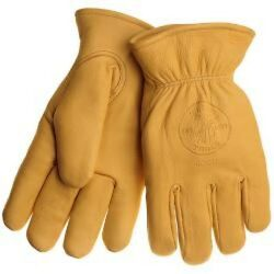 Klein Tools 40018 Cow Hide Work Gloves W/ Thinsulate, X-large