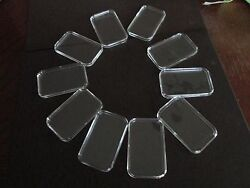 10 X 1oz Guardhouse Direct Fit Silver Bar Holders