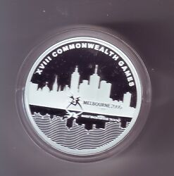 2006 5 City Of Sport Melbourne Commonwealth Games Silver Proof Coin