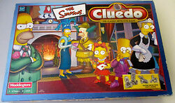 simpsons cluedo waddingtons